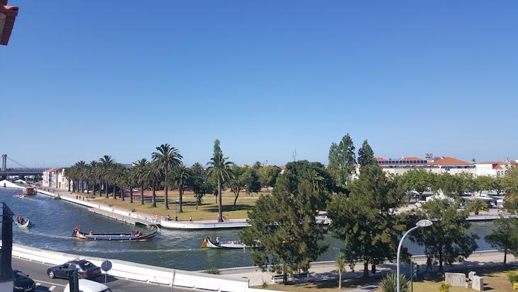 Vista do Estúdio do Hotel das Salinas, Aveiro © Viaje Comigo ®