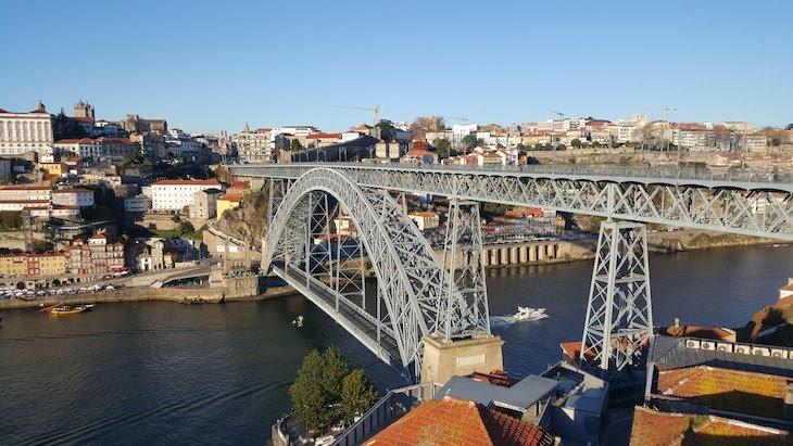 Ponte Luis I, Rio Douro, Porto © Viaje Comigo
