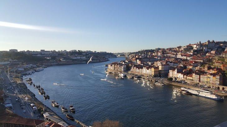 Vista para o Rio Douro, Ponte Luis I, Porto © Viaje Comigo