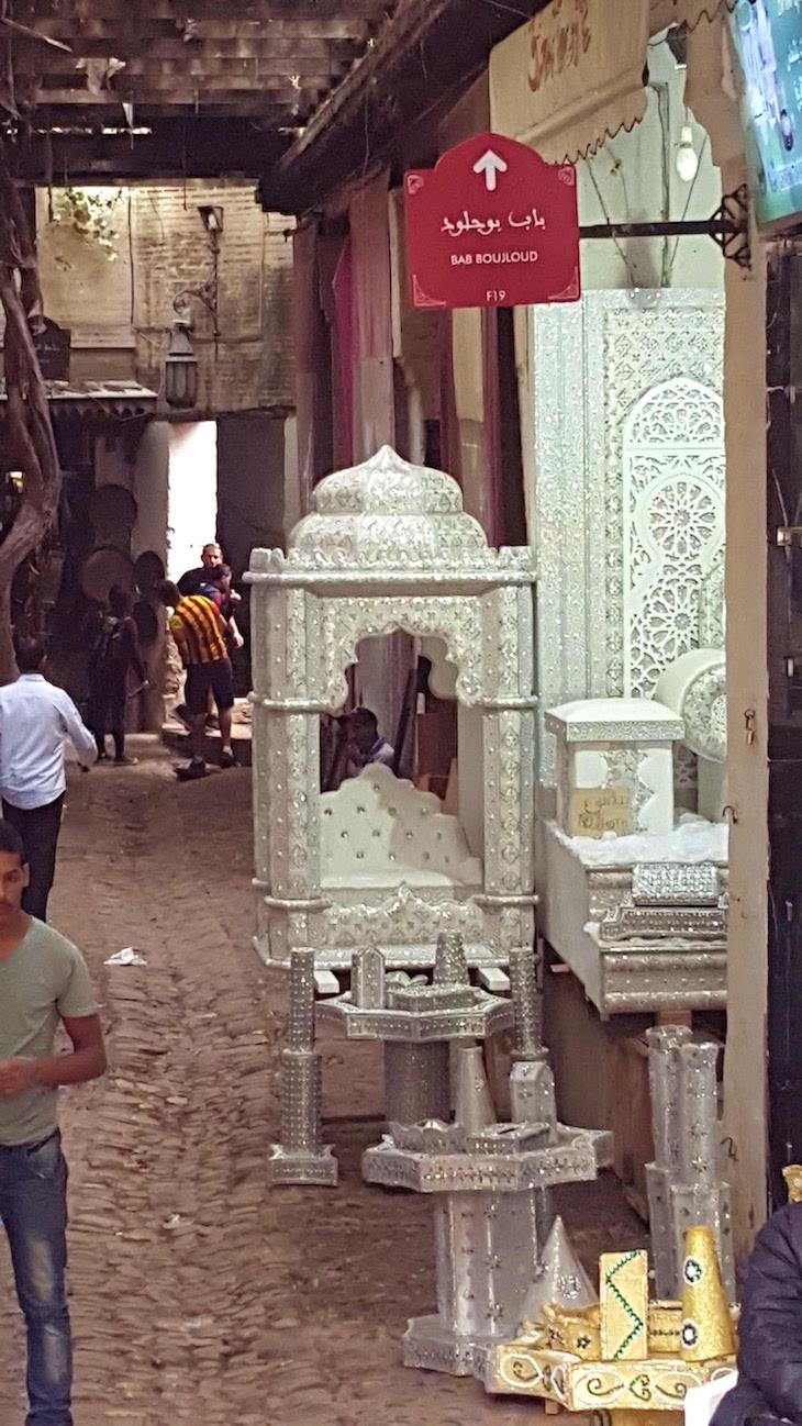 Altar da noiva - Fez - Marrocos © Viaje Comigo