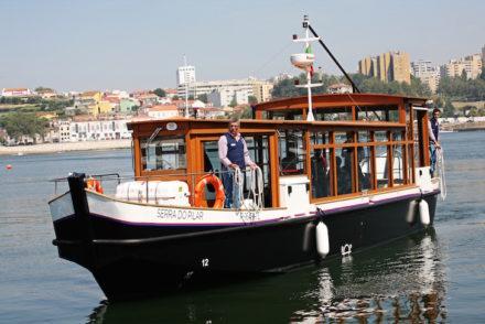 Táxi fluvial as Rabelas inicia ligação entre Porto e Gaia