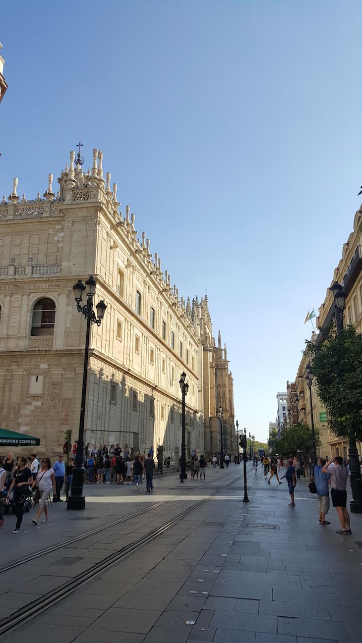 Avenida de la Constitucion - Sevilha © Viaje Comigo