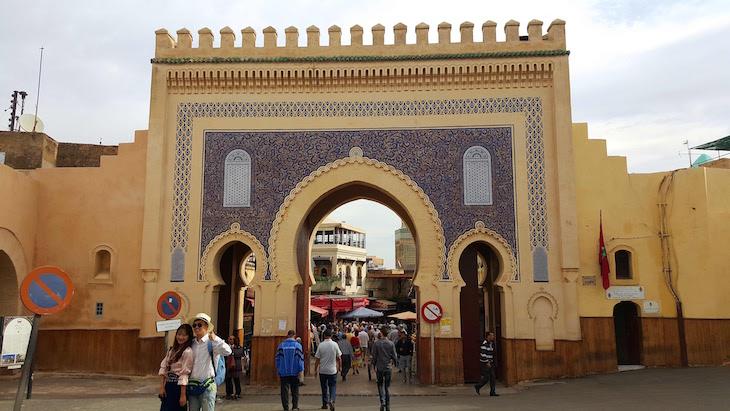 Bab Boujloud - Fez - Marrocos © Viaje Comigo