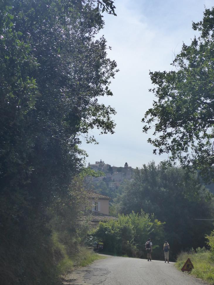 Caminho para Amelia - Itália © Viaje Comigo