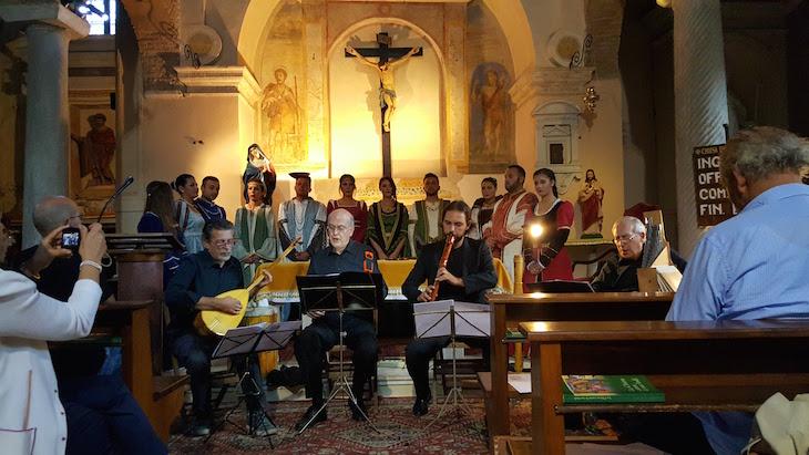 Concerto na Iglesia S. Lazzaro - Roma © Viaje Comigo