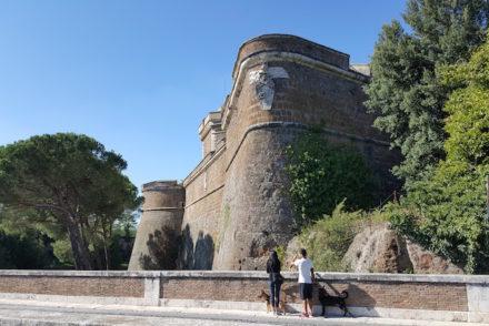 Forte Sangallo em Civita Castellana - Itália © Viaje Comigo