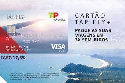 TAP lança cartão de crédito para pagar viagens