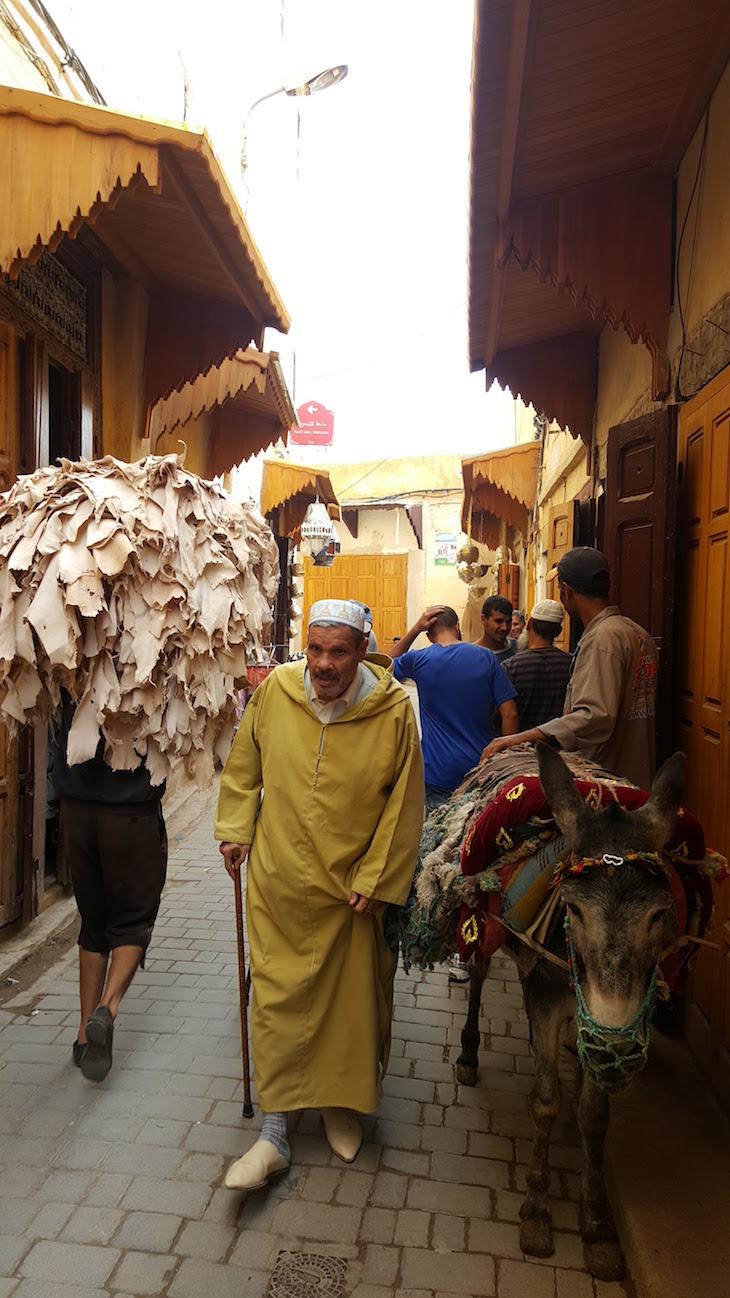 Na medina de Fez - Marrocos @ Viaje Comigo