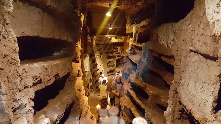 Catacumbas de Santa Savinilla - Nepi - Itália © Viaje Comigo