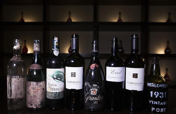 Vinhos provados nos 260 anos da Real Companhia Velha © RCV