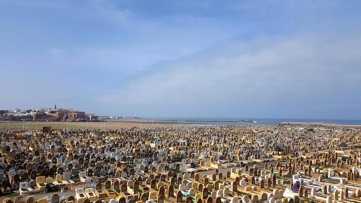 Vista de Salé - Marrocos © Viaje Comigo
