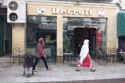 Café Detroit em Tétouan - Marrocos © Viaje Comigo