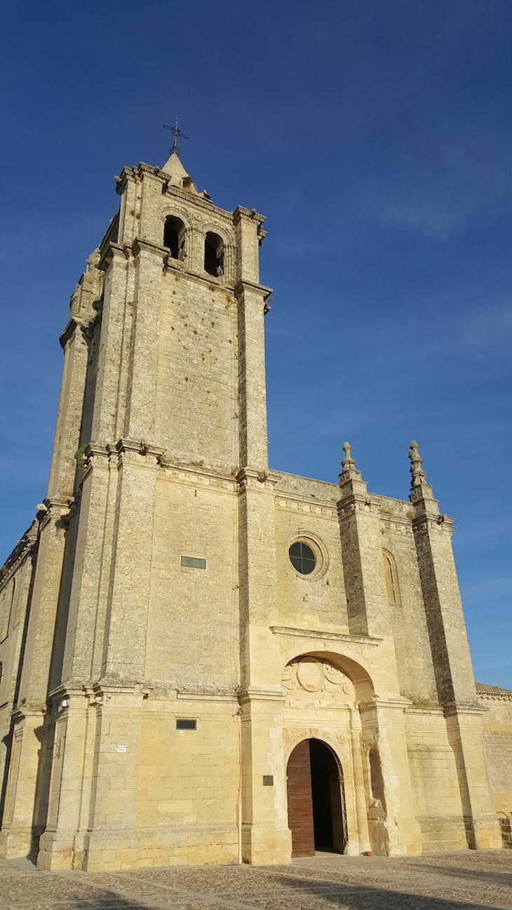 Igreja da Fortaleza de la Mota para Alcalá la Real - Espanha © Viaje Comigo