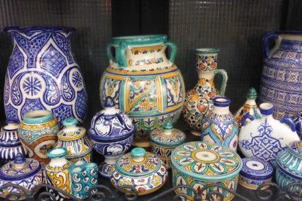 Cerâmicas de Fez - Marrocos © Viaje Comigo