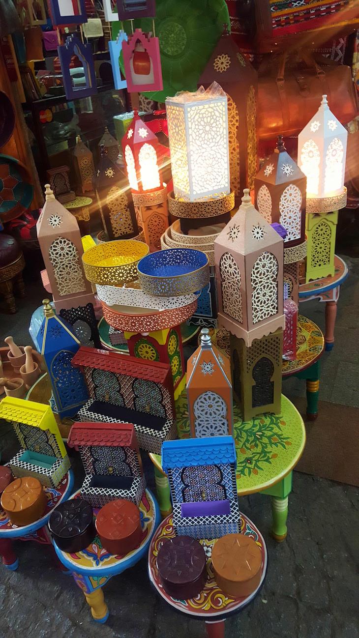 No souk de Rabat, Marrocos © Viaje Comigo