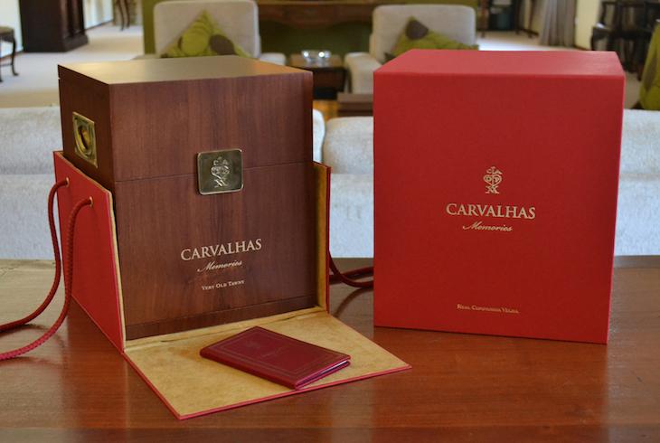 Caixa do Carvalhas Memories © DR RCV