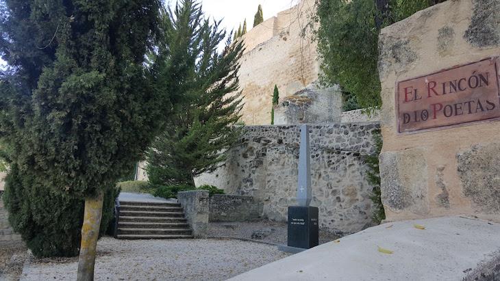 Rincón de los Poetas - Fortaleza de la Mota para Alcalá la Real - Espanha © Viaje Comigo