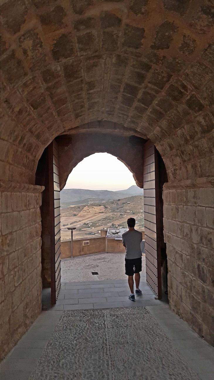 Saída da Fortaleza de la Mota para Alcalá la Real - Espanha © Viaje Comigo