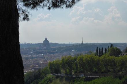 Vista do Monte Mario - Roma © Viaje Comigo