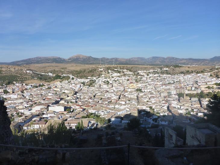 Vista para Alcalá la Real - Espanha © Viaje Comigo