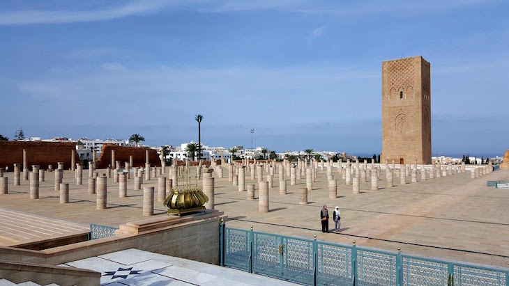 Bairro de Hassan - Mausoléu de Mohamed V - Rabat, Marrocos © Viaje Comigo