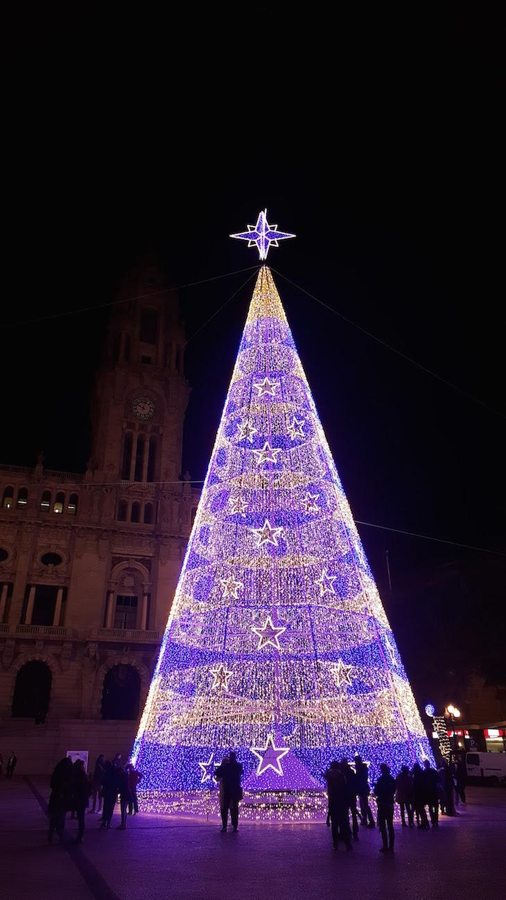 Árvore de Natal no Porto 2016 © Viaje Comigo