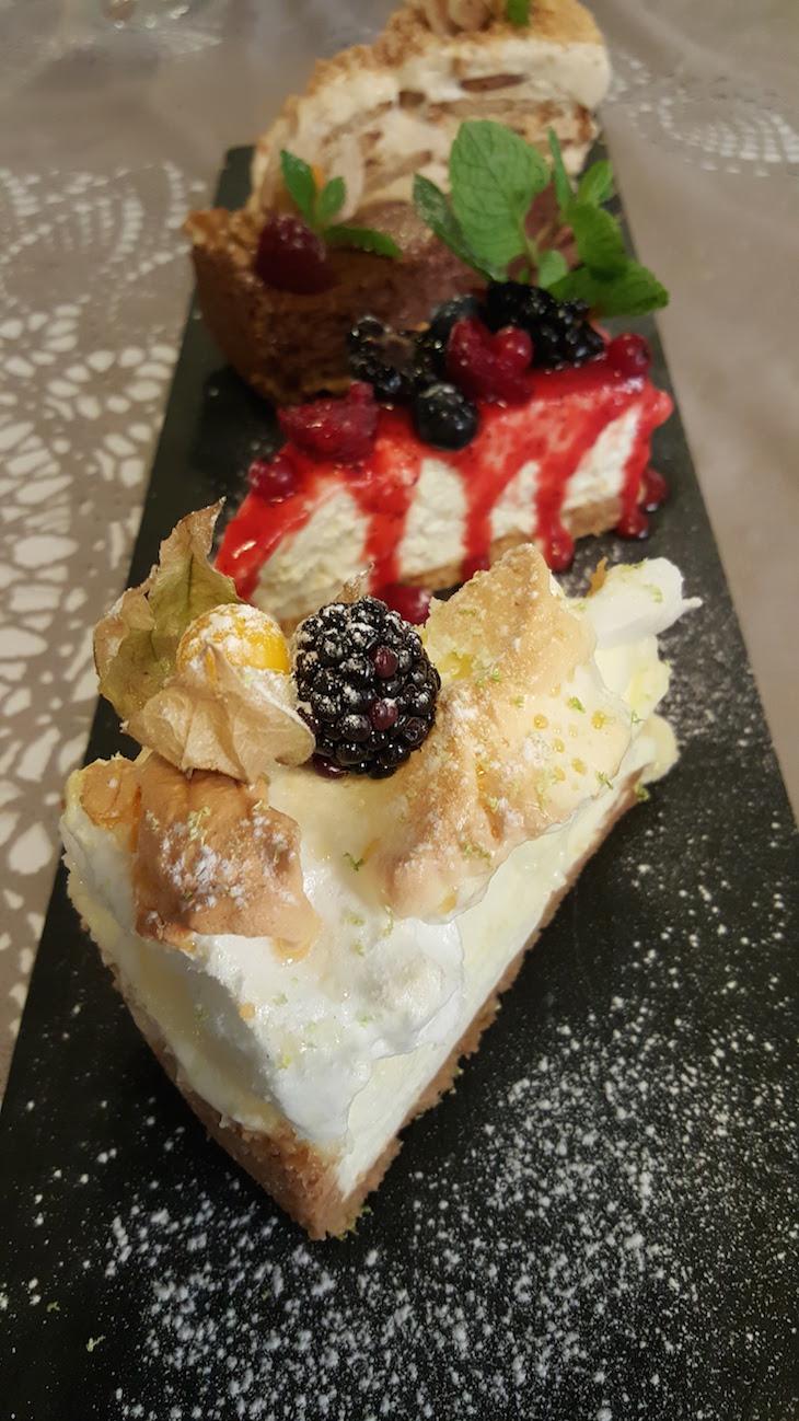Sobremesas no Restaurante Villazur © Viaje Comigo