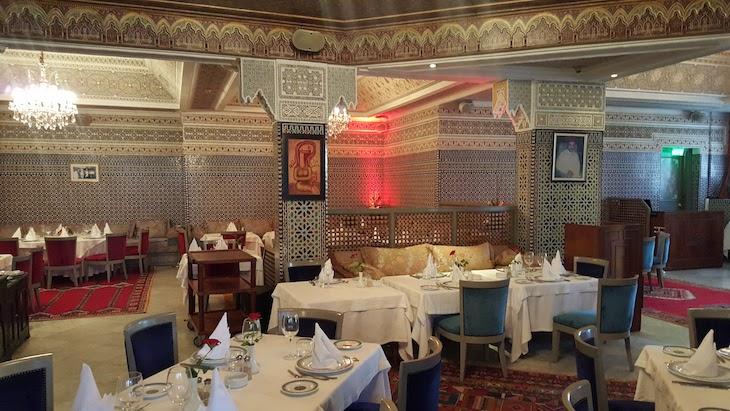 Sala do Le Basmane- Hotel Val d'Anfa - Casablanca © Viaje Comigo