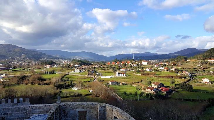 Vista do Paço de Giela - Arcos de Valdevez © Viaje Comigo
