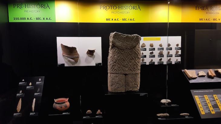 Sala de achados arqueológicos - Paço de Giela - Arcos de Valdevez © Viaje Comigo