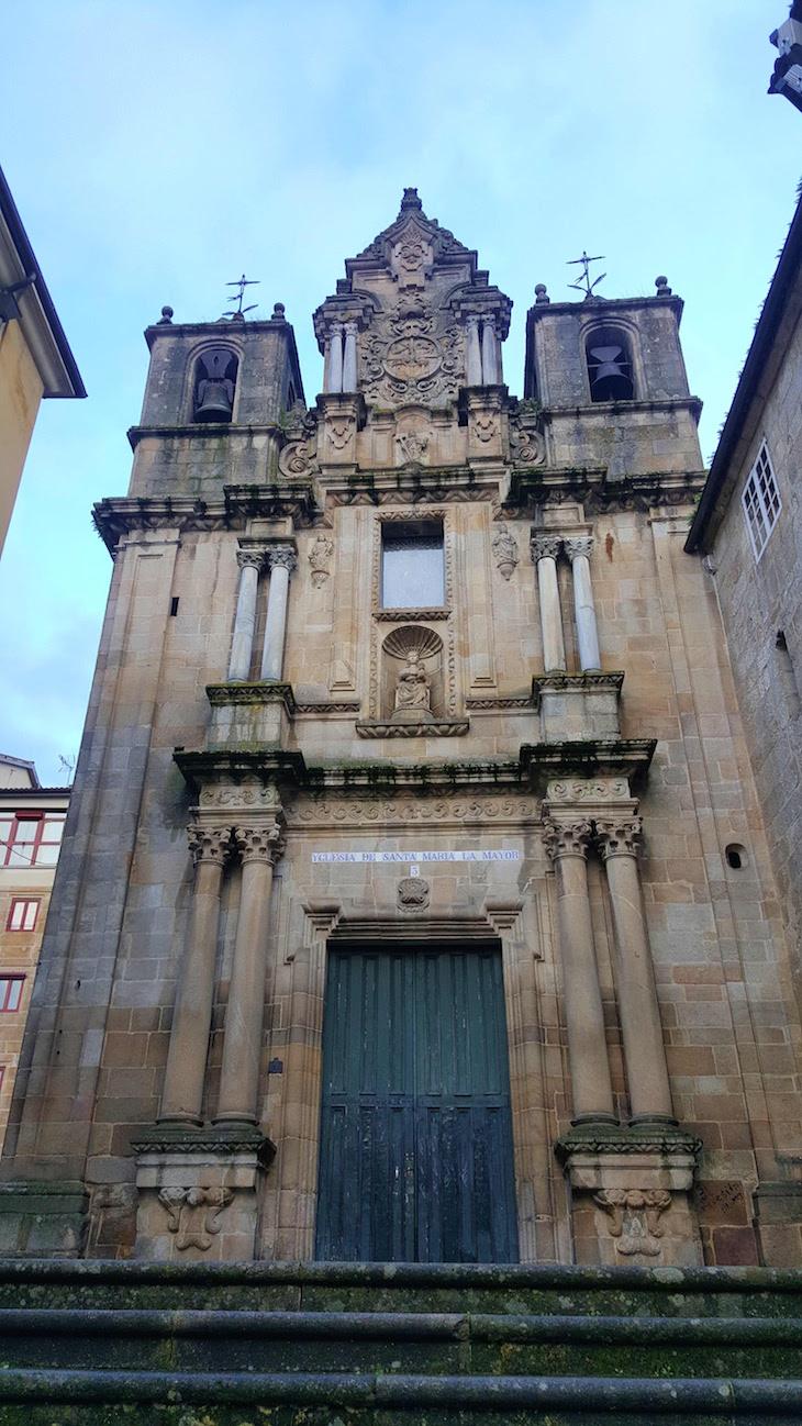 Igreja de Santa Maria Maior, Ourense, Espanha © Viaje Comigo