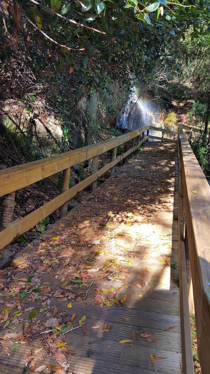 Queda de água na ecovia - Sistelo - Arcos de Valdevez © Viaje Comigo
