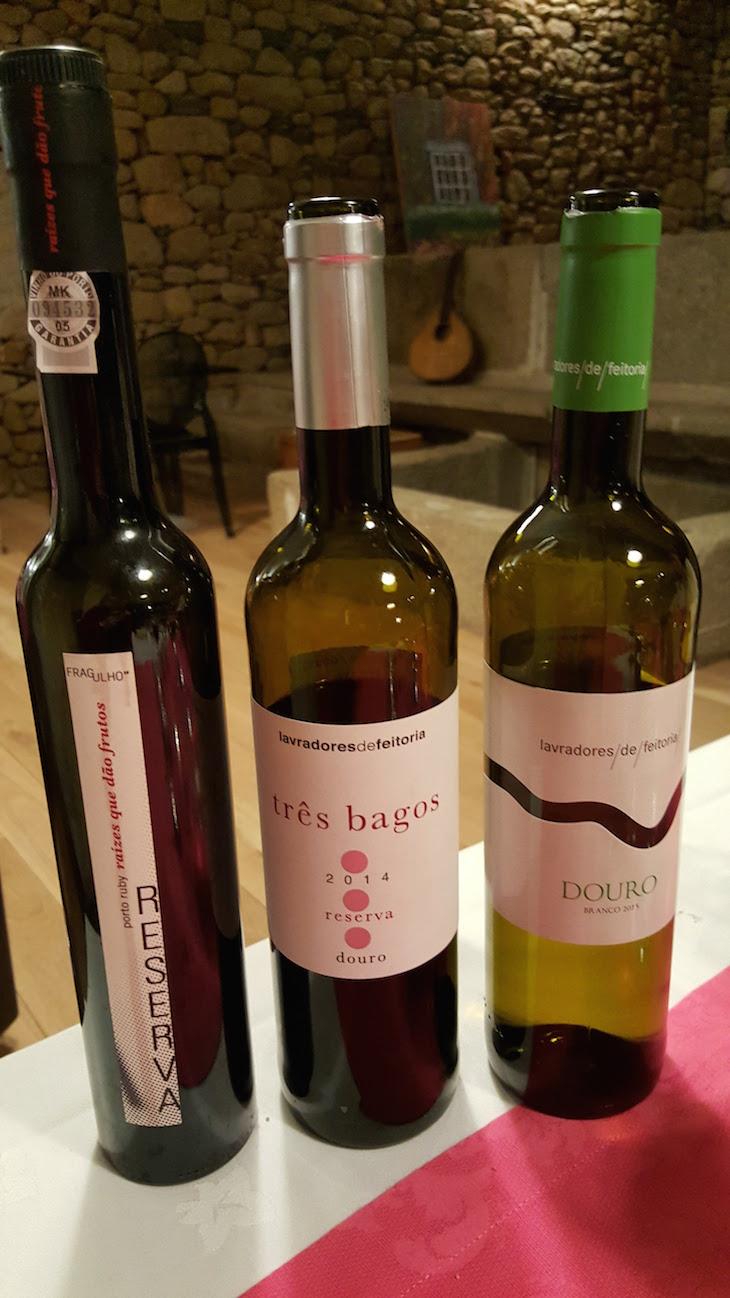 Vinhos servidos na Casa dos Barros - Sabrosa © Viaje Comigo