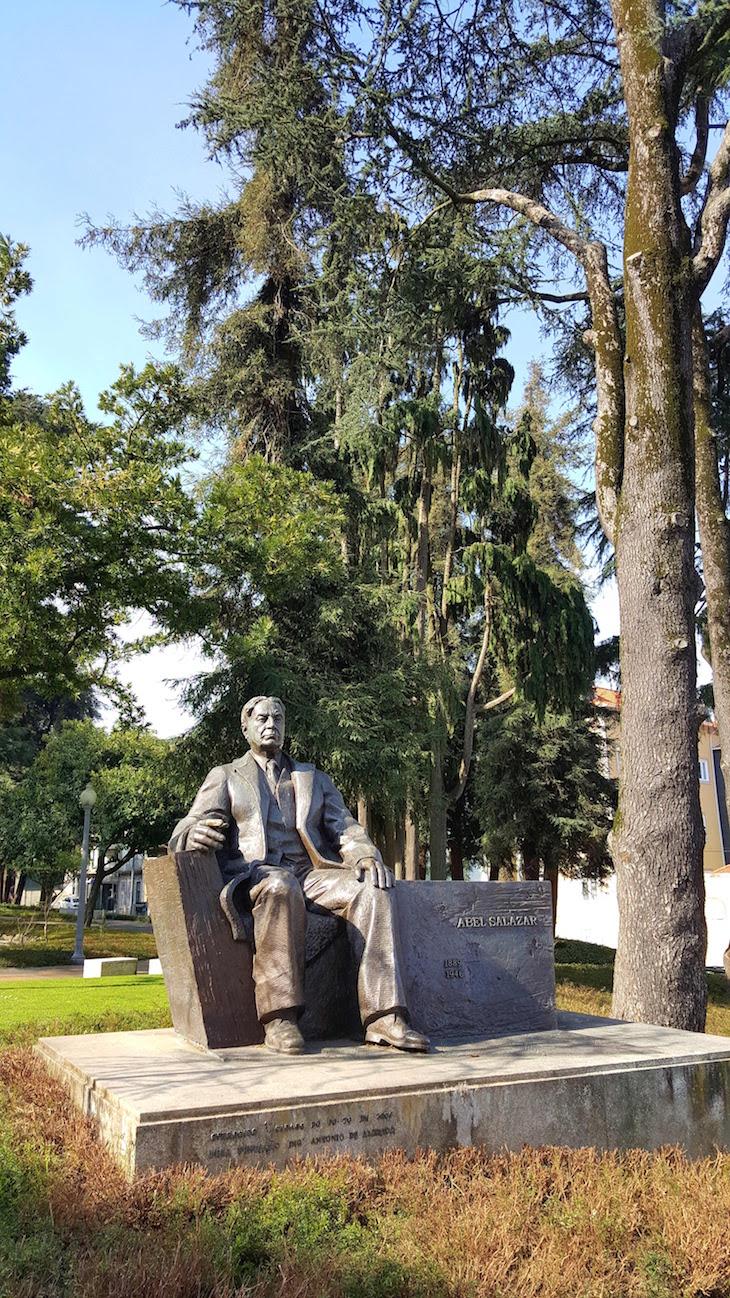 Estátua de Abel Salazar - Jardim do Carregal - Porto © Viaje Comigo