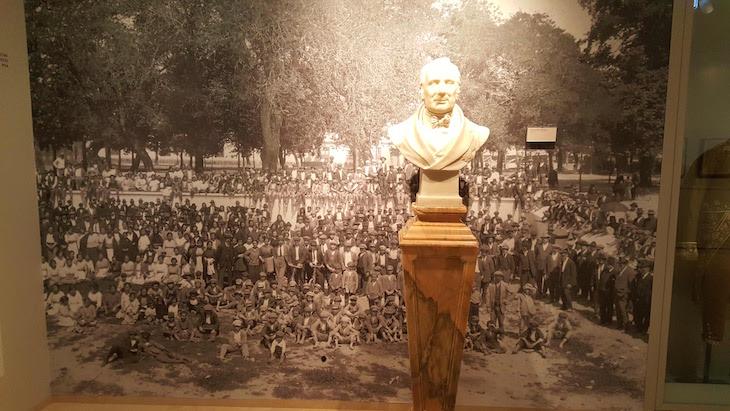 Fotografia do centenário - Museu Vista Alegre © Viaje Comigo