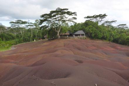 Terra com 7 cores - 7 Coloured Earth - Chamarel - Mauricias © Viaje Comigo