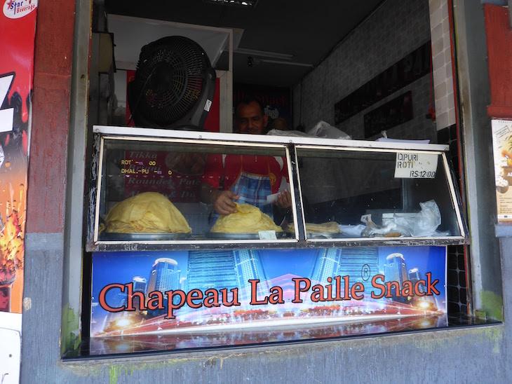 Comida de rua - Port Louis - Ilhas Maurícias © Viaje Comigo