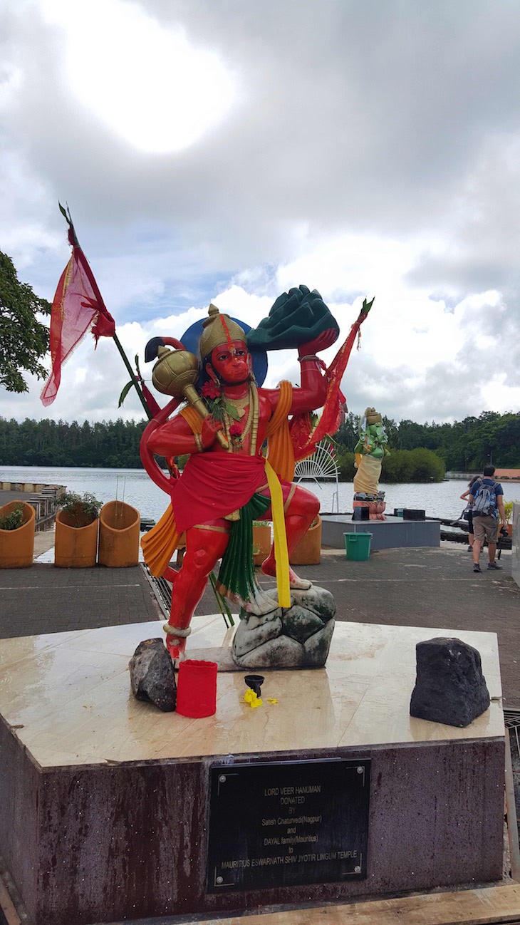 Lord Veer Hanuman - Templo Ganga Talao - Ilhas Mauricias © Viaje Comigo