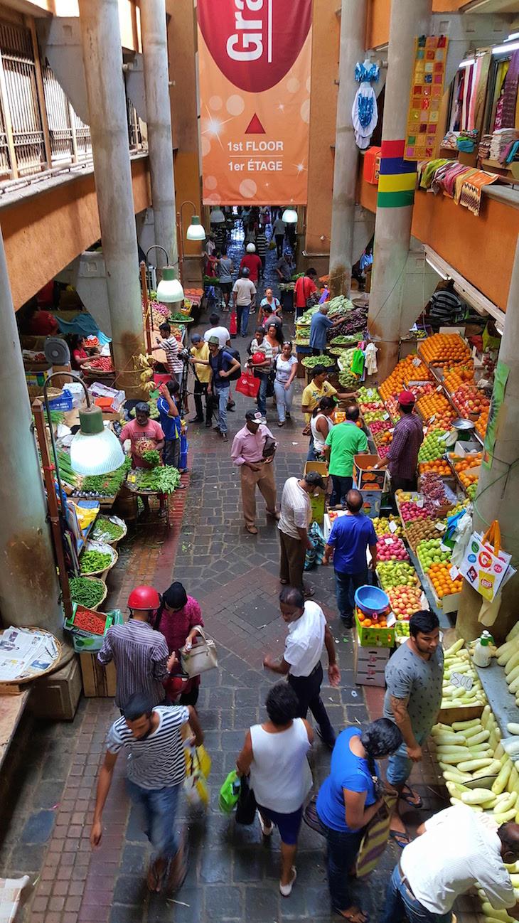 Mercado Central de Port Louis - Maurícias © Viaje Comigo
