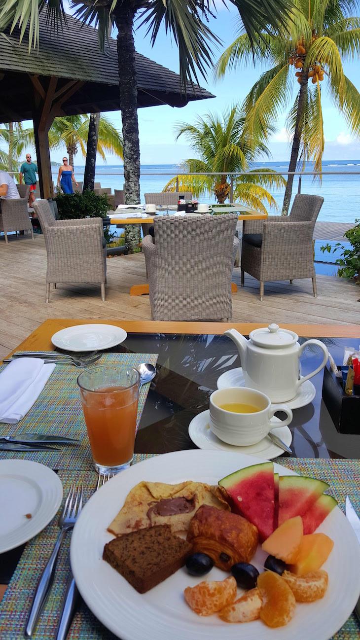 Pequeno-almoço no Trou aux Biches Beachcomber Golf Resort & Spa © Viaje Comigo