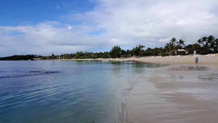 Praia do Long Beach Golf & Spa Resort - Ilhas Maurícias © Viaje Comigo