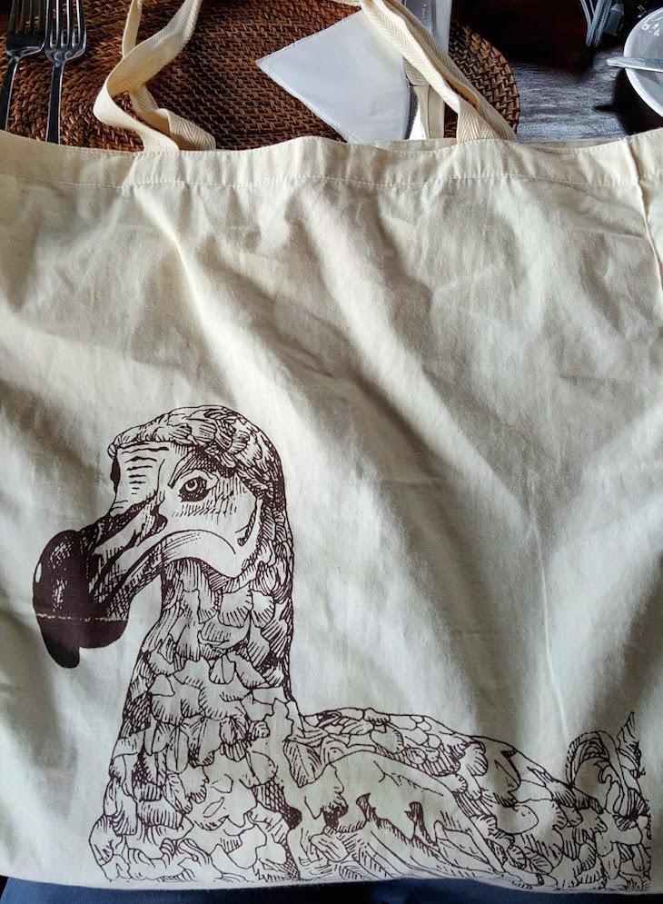 O meu saco com o Dodo - Ilhas Maurícias © Viaje Comigo
