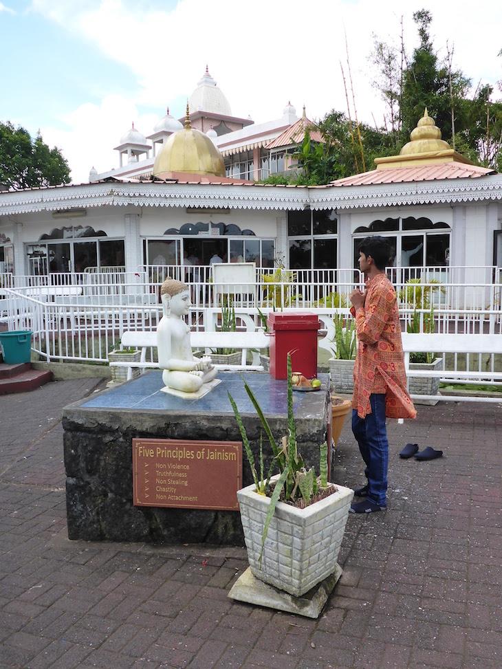 Templo Ganga Talao - Ilhas Mauricias © Viaje Comigo