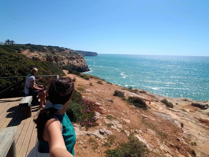 Vista do Algar Seco, Carvoeiro, Algarve © Viaje Comigo