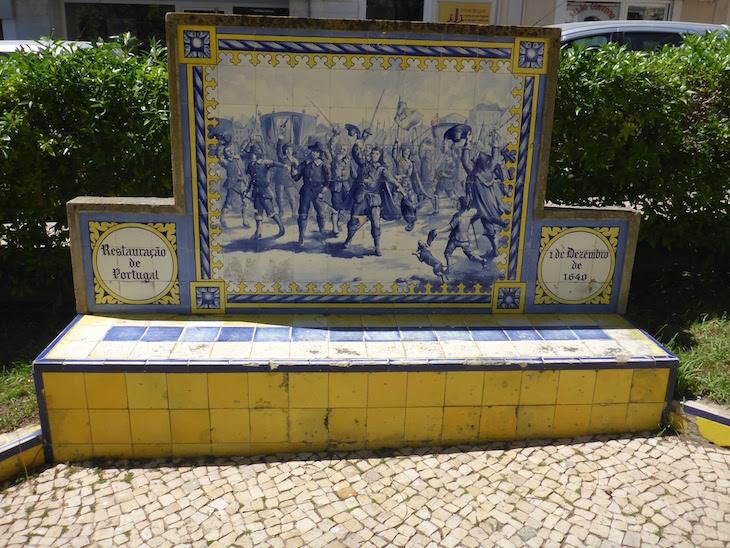 A Restauração de Portugal (1 de dezembro de 1640) - Jardim 1º Dezembro em Portimão © Viaje Comigo