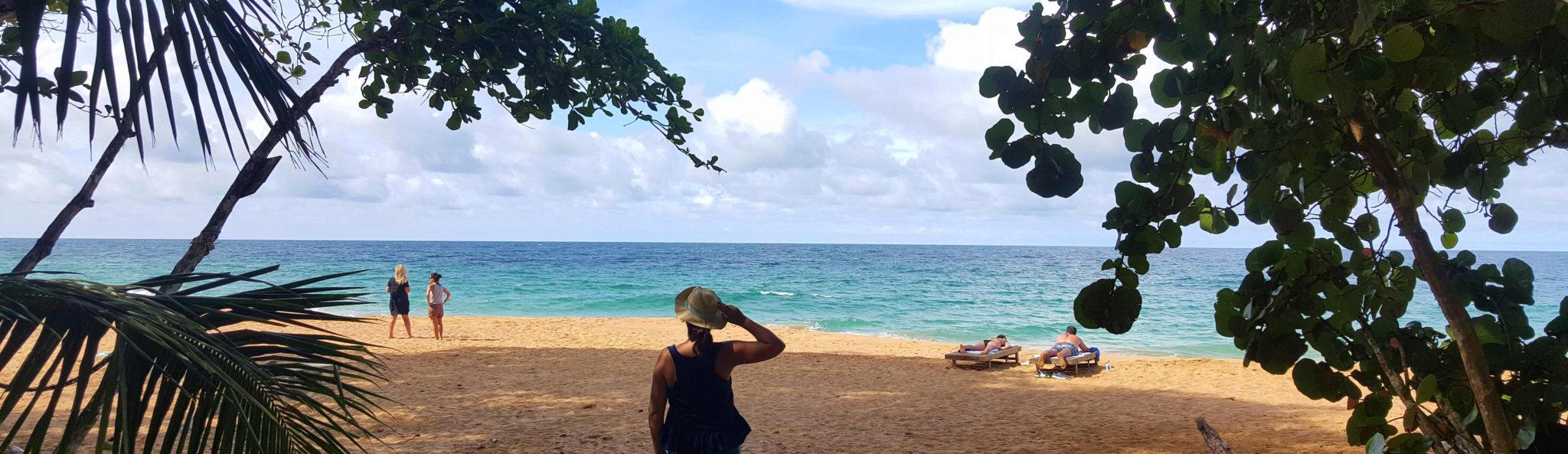 Praia Bluff - Panamá © Viaje Comigo