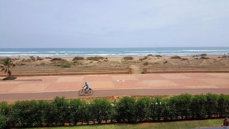 Bicicleta em Saidia - Marrocos © Viaje Comigo