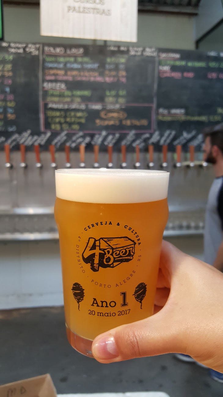 4 Beer em Porto Alegre, Brasil © Viaje Comigo