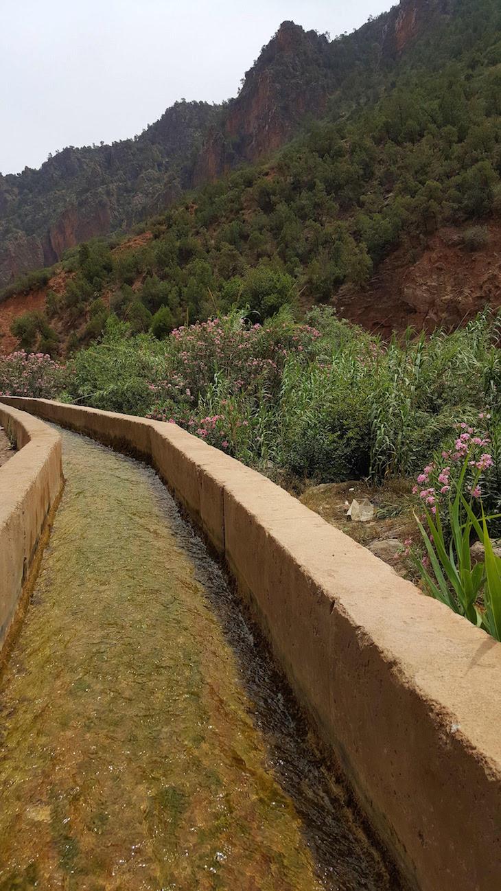 Cursos de água no Vale do Zegzel - Marrocos © Viaje Comigo