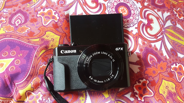 Canon PowerShot G7 X Mark II © Viaje Comigo